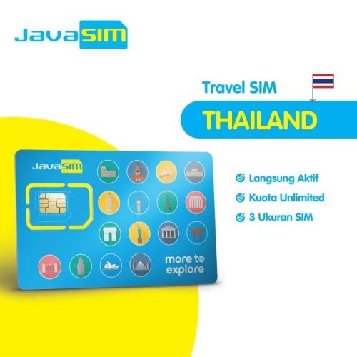 Foto Produk SIM Card Thailand Unlimited dari JavaMifi