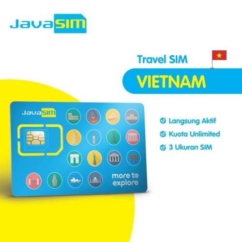 Foto Produk SIM Card Vietnam Unlimited dari JavaMifi
