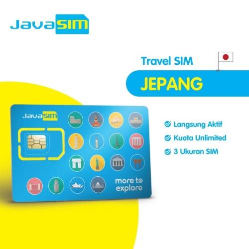 Foto Produk SIM Card Jepang Unlimited | Japan SIM dari JavaMifi