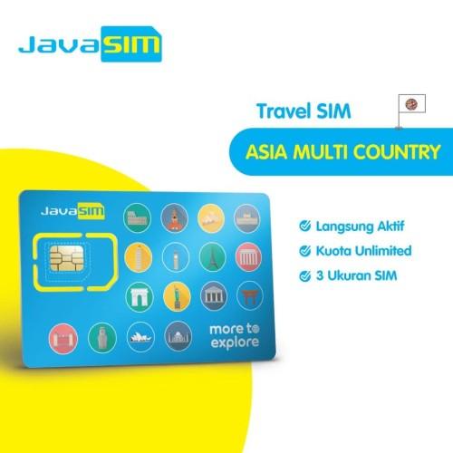 Foto Produk JavaMifi SIM Card Asia Unlimited 15 Hari dari JavaMifi