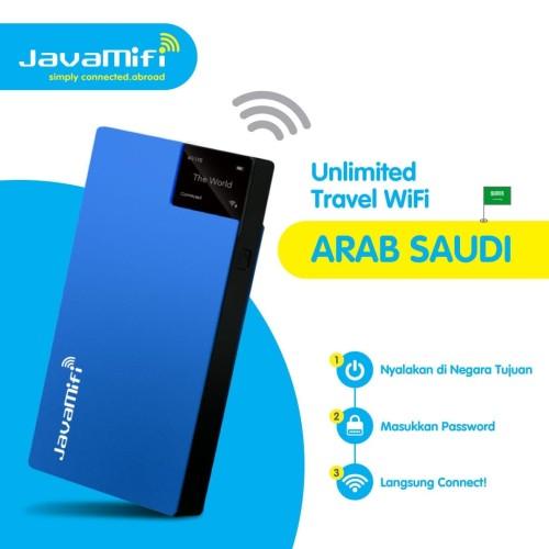 Foto Produk JavaMifi 4G Travel Wifi Saudi Arabia Unlimited Savvy | Sewa Wifi Umroh dari JavaMifi