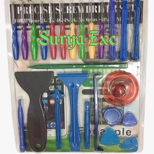 Foto Produk Screwdriver Set / Set Obeng iPhone / iPad / NDS / PSP dari Surya Exc