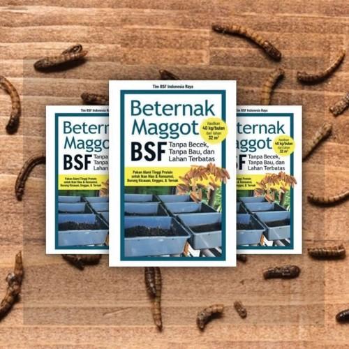 Foto Produk Beternak Maggot BSF - Tanpa Becek, Tanpa Bau dan Lahan Terbatas dari Toko Kutu Buku