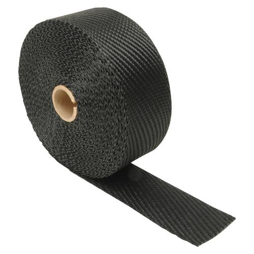 Foto Produk Black Glass Wrap Lakban Peredam Pelindung Panas Bungkus Knalpot Motor - Hitam dari lbagstore