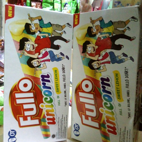 Foto Produk wafer fullo unicorn 1pak 20pcs dari snak & kembang gula