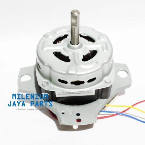 Foto Produk Dinamo WASH - Motor Penggiling Mesin Cuci SANKEN kaki 2 - TEMBAGA dari Milenium Jaya Parts