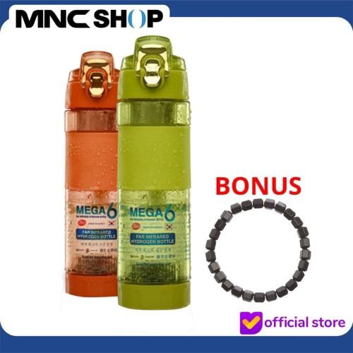 Foto Produk [MEGA 6] Botol Minum Kesehatan 600ML + Bonus Gelang Kesehatan - Hijau dari MNC Shop