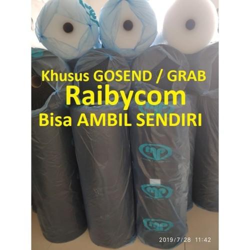 Foto Produk Buble Wrap Bubble Warp Bable Hitam Plastik Gelembung Putih Bening - Hitam dari Raibycom