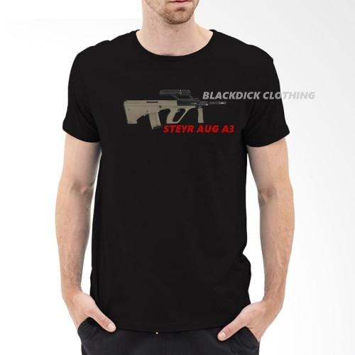 Foto Produk TSHIRT STEYR AUG A3 dari blackdick bdclothing