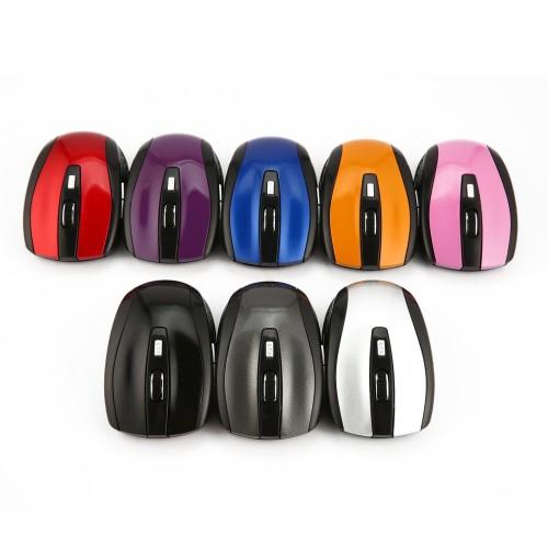 Foto Produk WH315 Mouse Wireless Optical 1600DPI 6 Tombol untuk Rumah Kantor dari Trendzone_