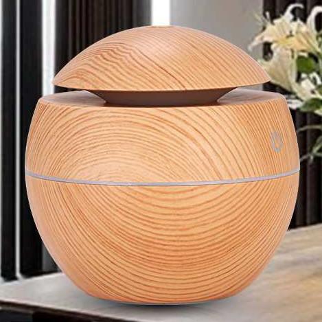 Foto Produk Alat Aroma Terapi Air Humidifier Motif Kayu - Coklat Muda dari Digisport Watch