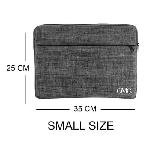 Foto Produk Pouch Sleeve Case Laptop Tablet Macbook Ipad 10 11 12 13 14 15 16 17 - SMALL dari GrosirOtomotif
