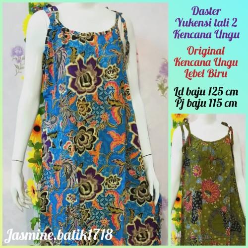 Foto Produk DASTER YUKENSI TALI 2 KENCANA UNGU dari jasmine.batik1718