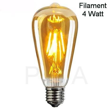 Foto Produk LED Filamen 4 Watt E27 dari Penjual Glodok Andalan