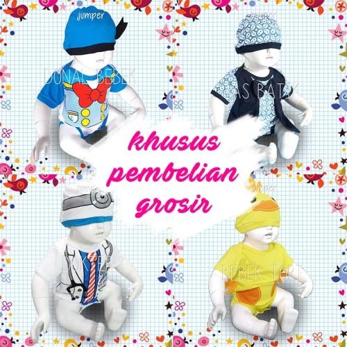 Foto Produk baju bayi jumper grosir mix motif murah - S dari ermon baby and kids