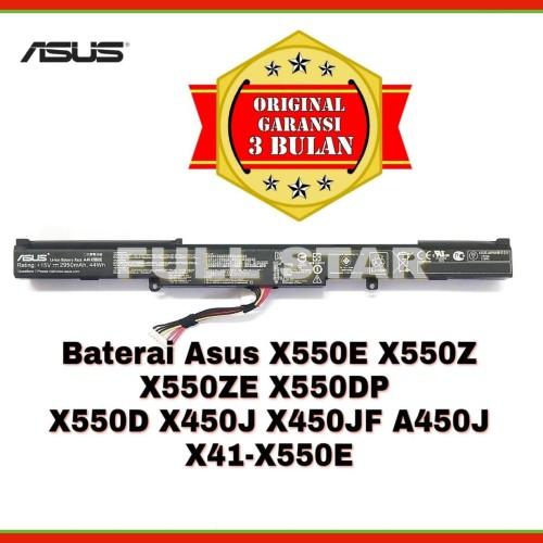 Foto Produk Baterai Laptop Asus X550E X550Z X550ZE X550D X550DP X450J A41-X550E dari FULL STAR