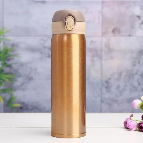 Foto Produk [GOLD] Termos Niagara Polos 500ml Thermos Tumbler Botol Stainles H667 dari oneone
