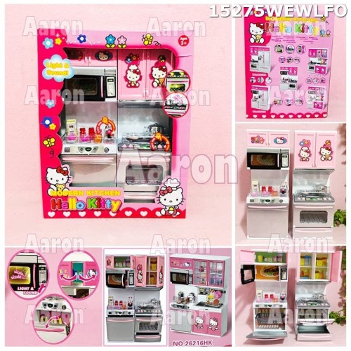 Foto Produk Modern Kichen Hello Kitty / Kado Mainan Anak Hello Kitty Kichen 15275 dari aaron kitty shop