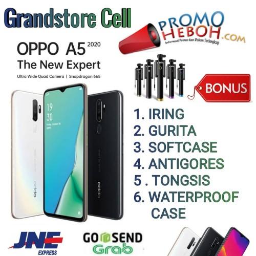 Foto Produk OPPO A5 2020 RAM 4/128 GB GARANSI RESMI OPPO INDONESIA - Putih dari Grandstore cell