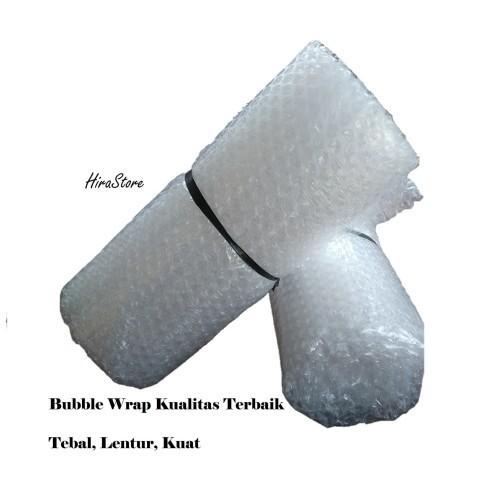 Foto Produk Bubble wrap ecer 1.25 meter x 1 meter roll bungkus plastik biru murah dari Adreena Syahira Shop