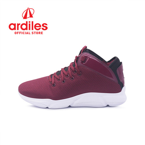 Foto Produk Ardiles Men Sedona Sepatu Basket - Maroon Hitam - Maroon Hitam, 41 dari Ardiles Official Store