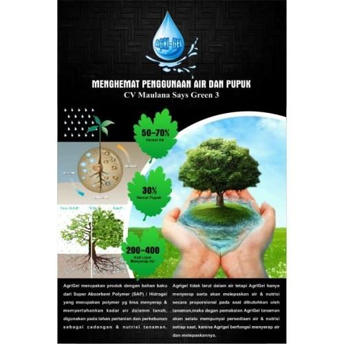 Foto Produk Super Absorbent Polymer (SAP) Hidrogel Untuk Tanaman - Agrigel dari maulana says green