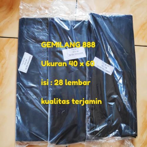 Foto Produk Trash Bag uk. 40x60 , Plastik Sampah, Kantong Sampah, polibag, Polybag dari Gemilang 888
