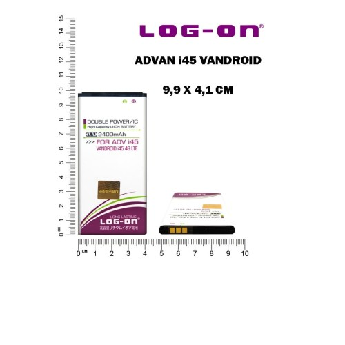Foto Produk Log On Baterai ADVAN i45 4G LTE dari Log-on Official Store