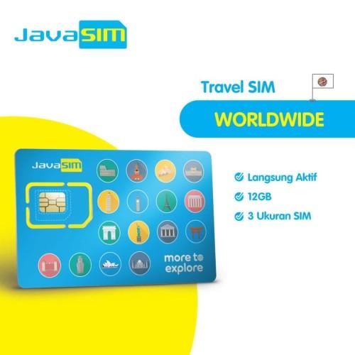Foto Produk SIM Card Worldwide 71 Negara dari JavaMifi