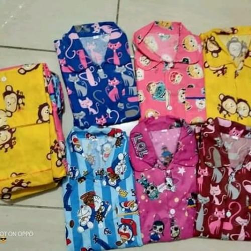 Foto Produk piyama anak / baju tidur size M, L, XL ( 1-6 tahun) dari Grosir Piama Anak
