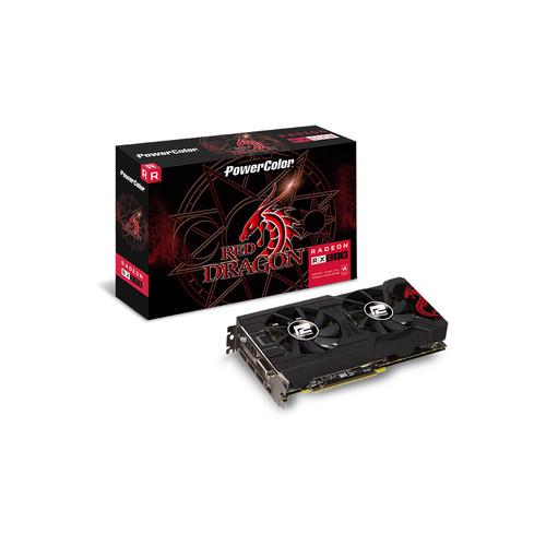Foto Produk VGA ATI Radeon Power Color Red Dragon RX 570 8GB DDR5 - PROMO dari A-10 Store