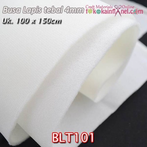 Foto Produk BLT101 Busa Lapis / Busa Angin Tebal 4mm uk 100cm x 150cm dari Toko Kain Flanel dot com