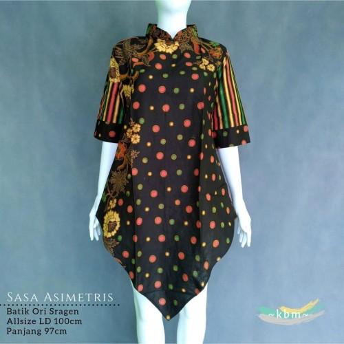Foto Produk Tunik asimetris batik sragenan Sasa dari Batik Sri