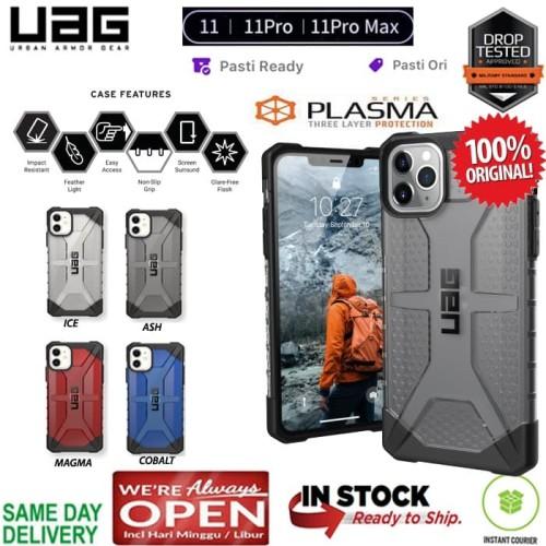 Foto Produk iPhone 11 / 11 Pro / 11 Pro Max Case UAG Plasma (ORIGINAL) - Cobalt Blue, iPhone 11 Pro dari Spigen Indonesia