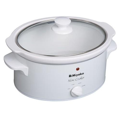 Foto Produk Miyako Slow Cooker - SC 630 - 6 Litre - Putih/White dari Homewaresku
