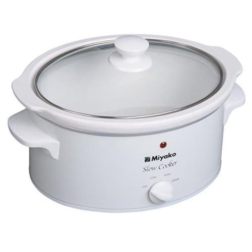 Foto Produk Miyako Slow Cooker - SC 400 - 4L - Putih/White dari Homewaresku