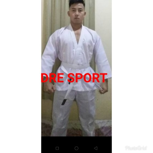 Foto Produk Baju karate dewasa S,M,L,XL,XXL - S dari DRE SPORT SHOP