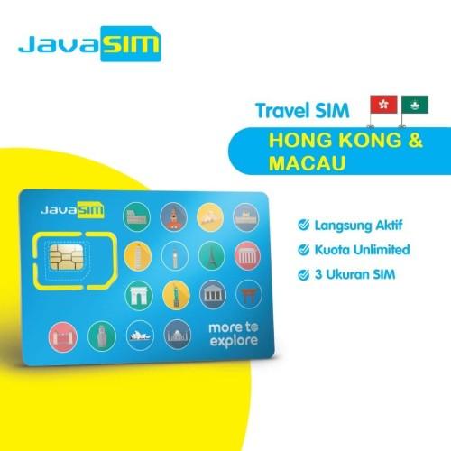 Foto Produk SIM Card Hongkong Macau Unlimited dari JavaMifi