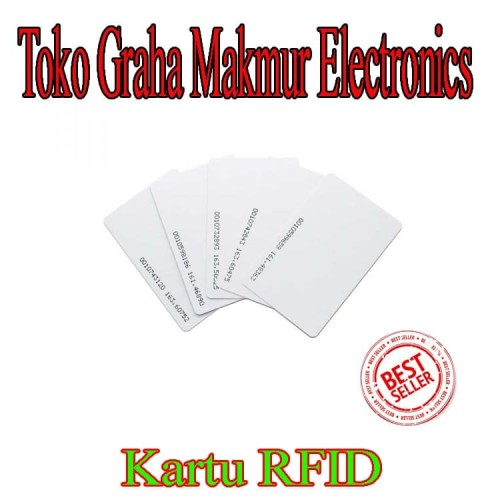 Foto Produk kartu RFID 125 khz untuk access control access door akses door dari Graha Makmur Electronics