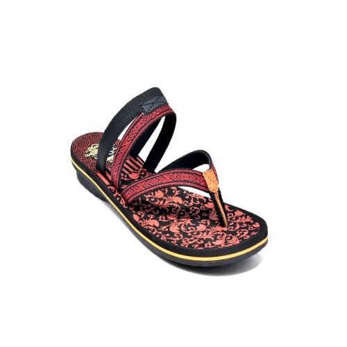 Foto Produk Sandal Sponge Wanita Carvil CYNTIA 01L Red dari Dinasti Shoes