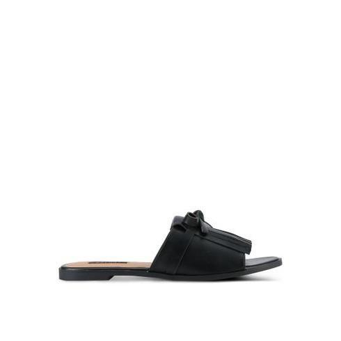 Foto Produk Sandal Zalora Fringed Sliders dari Dinasti Shoes