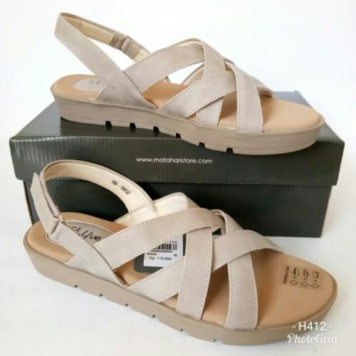 Foto Produk Sandal St.Yves B1652BG77 sandal tali sandal flat dari Dinasti Shoes