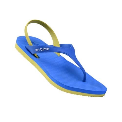 Foto Produk Sandal Ontime Strappy Blue Lemon dari Dinasti Shoes
