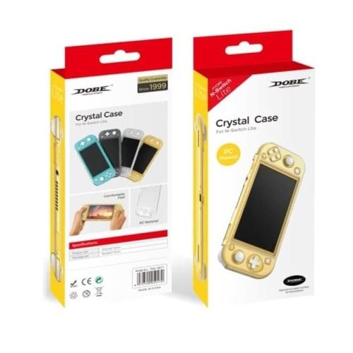 Foto Produk Nintendo Switch Lite DOBE Crystal Case / Mika TNS-19071 (Bening/Clear) dari Suyanto//Liberty Game
