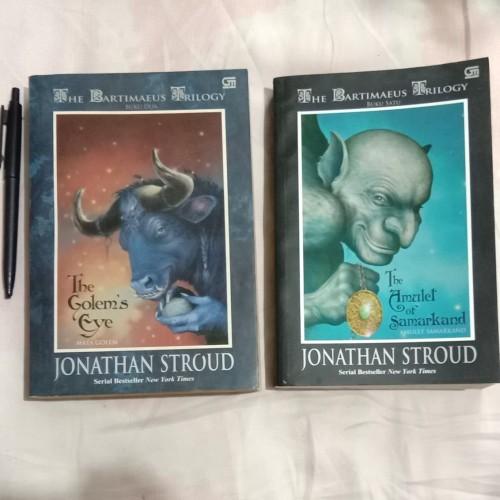 Foto Produk 2 Novel The Bartimaeus Trilogy buku satu dan buku dua dari boekoejack
