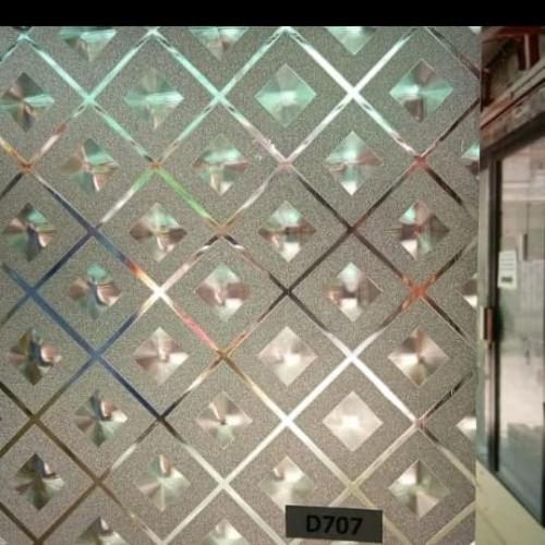 Foto Produk stiker kaca Motif gliter 3D dari Media Kreasi Art