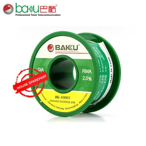 Foto Produk Baku BK-10003 0.3mm Timah Gulung/Timah Solder/Kawat Solder RMA 2.0% dari HOUSE SPAREPART