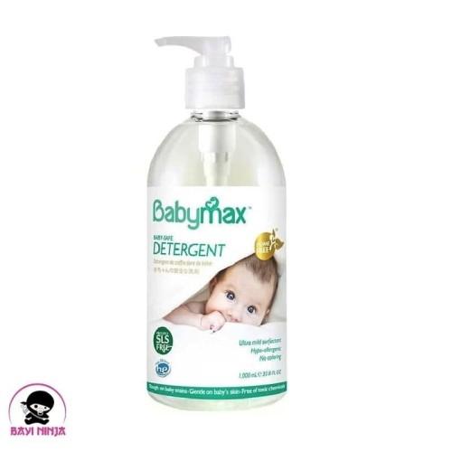 Foto Produk BABYMAX Baby Safe Detergent Bottle Pump 1000 ml dari BAYININJA