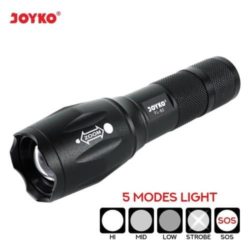 Foto Produk LED Flashlight / Senter LED Joyko FL-82 dari JOYKO Official