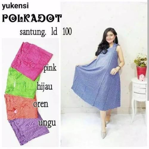 Foto Produk Daster Yukensi Payung Polka Baju Hamil Baju Tidur Wanita dari Brantandari Shop